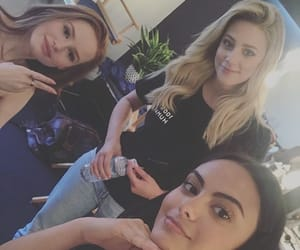 riverdale, lili reinhart, and camila mendes image