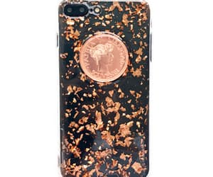 black, glitter, and iphone case image