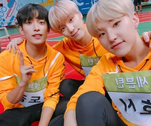 dino, Seventeen, and dokyeom image