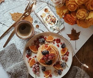 autumn, breakfast, and food image