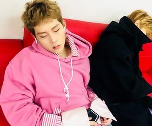 k-pop, sleep, and jooheon image