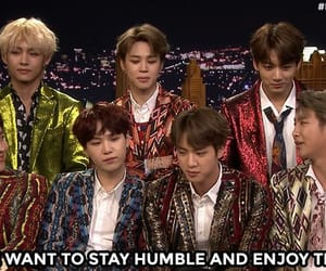 jimmy fallon, rm, and bts image