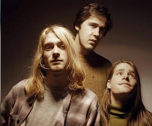 cobain, grunge, and nirvana image