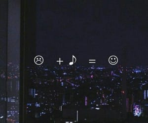 dark, happy, and music is my life image