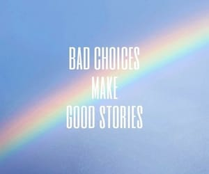 wallpaper, rainbow, and blue image