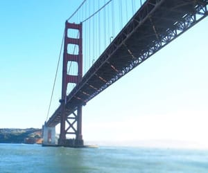 blue, francisco, and golden gate bridge image