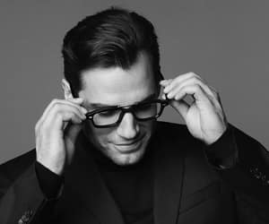 actor, black & white, and Henry Cavill image