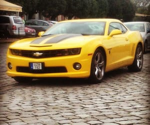 camaro, bumblebee, and fast car image