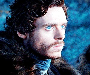 gif, handsome, and robb stark image