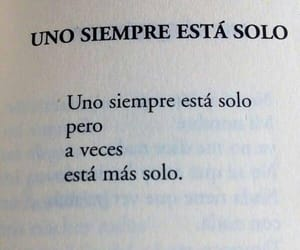 frases, solo, and loneliness image