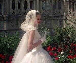 bride, alternative, and audrey hepburn image