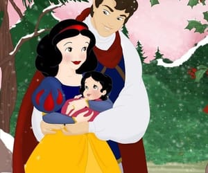 disney, snow white, and family image