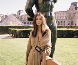 girl, style, and emily ratajkowski image
