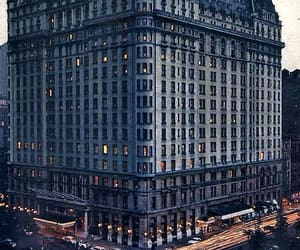 1950s, new york, and plaza hotel image