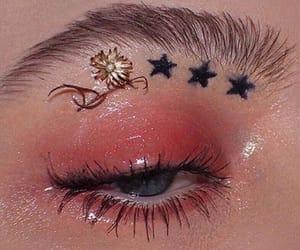 makeup, aesthetic, and eye image