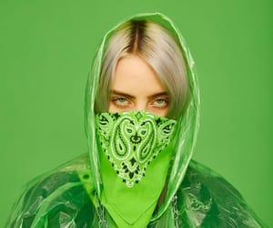 green, billie eilish, and billie image