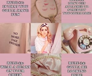aesthetic, marina and the diamonds, and pink aesthetic image