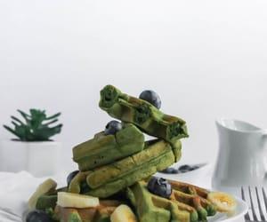 breakfast, food, and green tea image