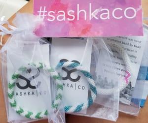 fashion, handmade bracelet, and cute stickers image