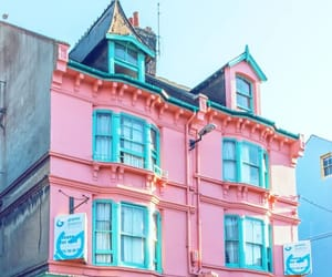 blue and pink, colorful, and colors image