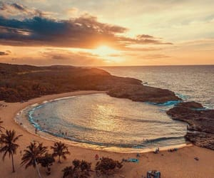 adventure, beach, and landscape image