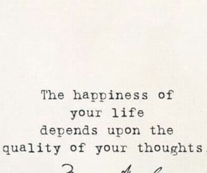 quotes, happiness, and thoughts image