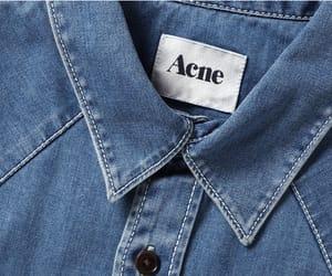 acne, denim, and fashion image
