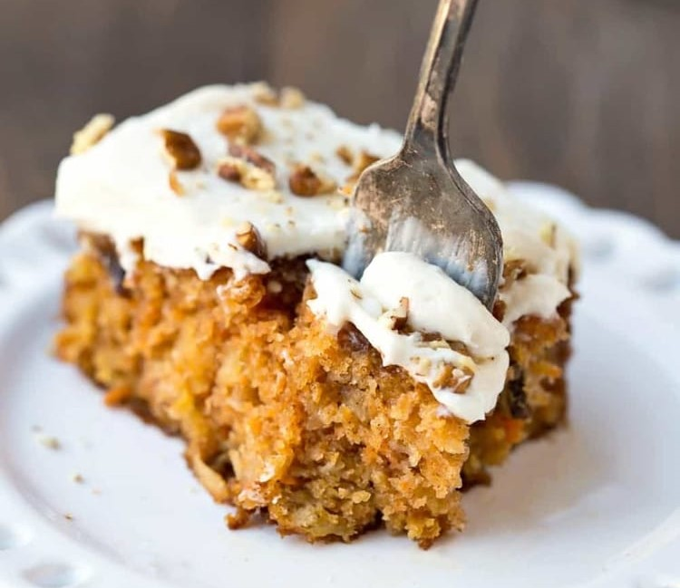 article, cake, and carrot cake image