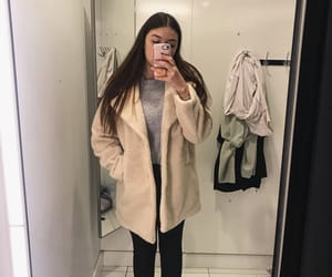 aesthetic, asian, and coat image