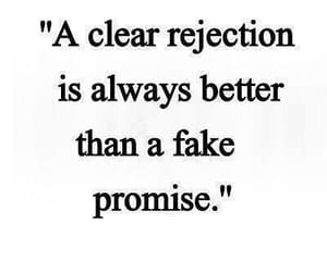 promise, quotes, and rejection image