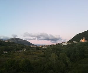 church, clouds, and italy image