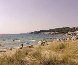 beach, dune, and hippie image
