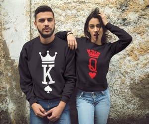 etsy, valentines day gift, and couple sweaters image