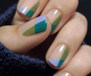 beuty, creative, and nails image