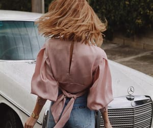 blond, car, and fashion image
