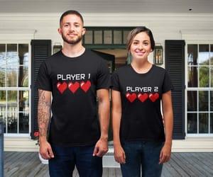 etsy, computer games, and matching shirts image