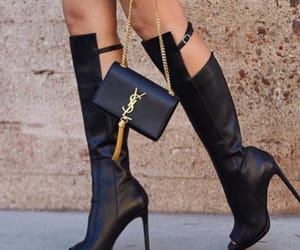 bag, purse, and shoes image