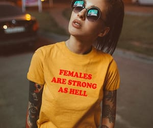 etsy, christmas gift, and feminist shirt image