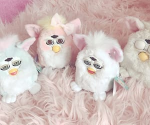 aesthetic, furbies, and pastel image
