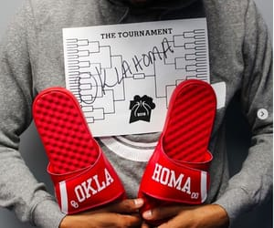 Basketball, sandals, and footwear image