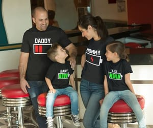 etsy, t shirt, and father daughter image