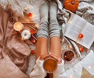 girl, fashion, and fall image