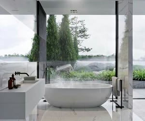 bathroom, home, and goals image