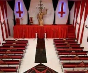 church of satan, satanic, and satanism image
