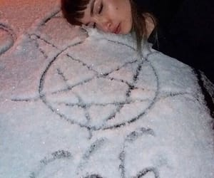 satan, grunge, and 666 image