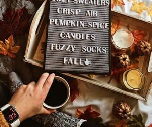 aesthetics, autumn, and coffee image