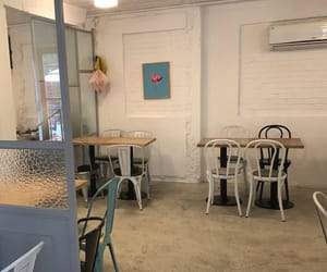 beige, cafe, and seoul image