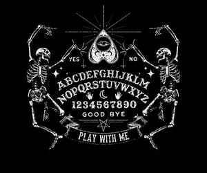 dark, Occultism, and ouija image