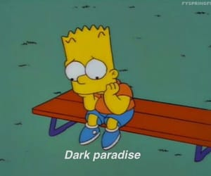quotes, sad, and the simpsons image