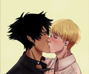 akira, boys, and kiss image